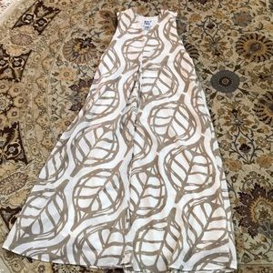 Anthropologie maxi dress with pocket